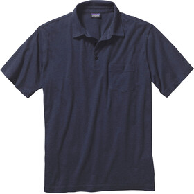 Patagonia Squeaky Clean Polo Uomo, navy blue